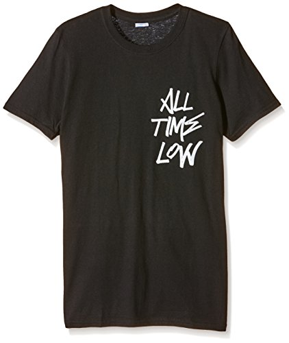 Plastic Head - All Time Low Graffiti  TSFB, T-Shirt uomo, Schwarz - Schwarz, Small