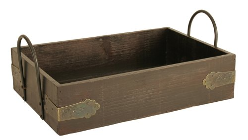 Wald Imports Wood Serving Tray, 12-Inch
