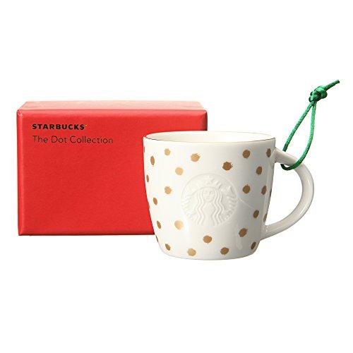スターバックス Starbucks 2015 ホリデー オーナメントデミ ゴールドドット 89ml