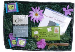 Relaxation and Wellness Gift Basket