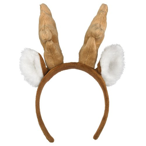 Wildlife Artists White-tailed Deer Headband Reindeer Plush Toy - 1