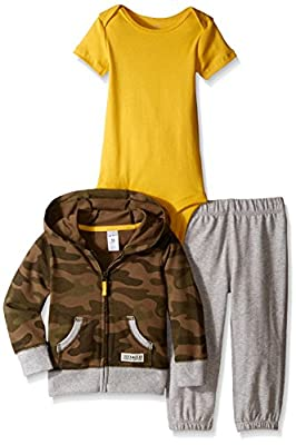 Carter's Baby Boys' 3 Piece Print Cardigan Set (Baby) by CARTERS that we recomend personally.
