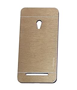 Asus Zenfone 5 for Metal Motomo Back Cover color Gold