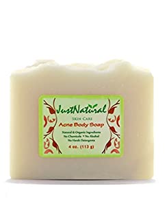Acne Body Soap by Just Natural Products