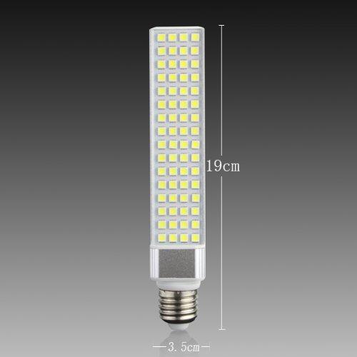 Yaho-Mall E27 5050 Smd 64Led Energy Saving High Power Lamp Bulb Ac 85V-265V/Cool White-13W