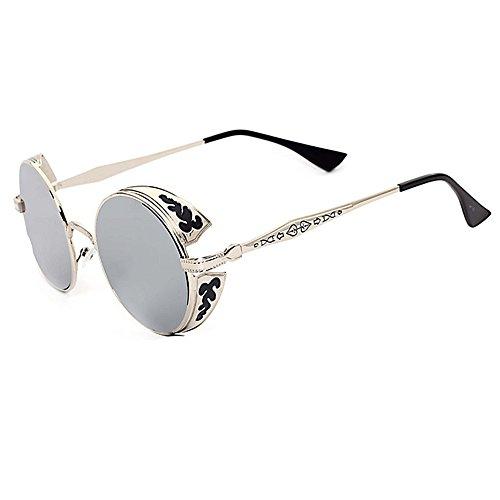 Fenck STEAMPUNK Sunglasses Womens 2016 Sunglasses Men'S Glasses Steampunk Goggles Sports Metal Female Eyewears