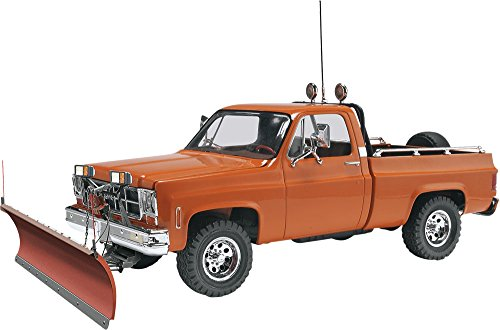 Revell GMC Pickup with Snow Plow Plastic Model Kit (Model Truck Kits compare prices)