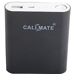 Callmate Power Bank Alloy 10400 mAH - Black
