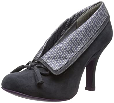 Ruby Shoo Women's Demi Court Shoes 08419 Grey 4 UK, 37 EU