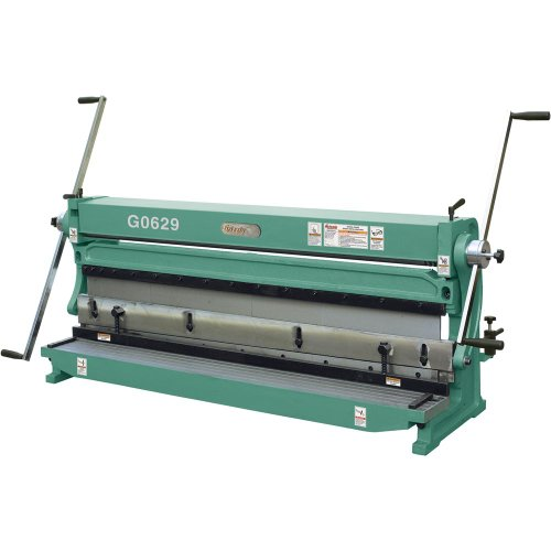 Grizzly G0629 Three in One Sheet Metal Machine, 52-Inch (3 In 1 Sheet Metal Machine compare prices)