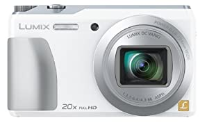 Panasonic デジタルカメラ ルミックス TZ55 光学20倍 ホワイト DMC-TZ55-W