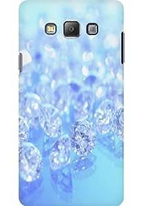 AMEZ designer printed 3d premium high quality back case cover for Samsung Galaxy A7 (diamonds)