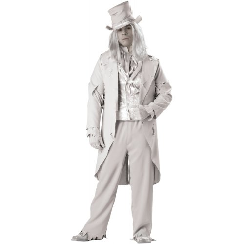 Ghostly Gent Costume - XX-Large - Chest Size 50-52