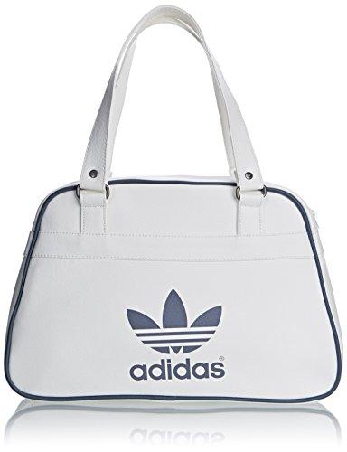 Adidas Bowlb Classic Borsa, Bianco/Nero, Unica