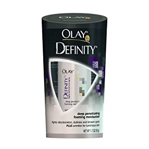 Olay Definity Deep Penetrating Foaming Moisturizer, Packaging May Vary, 1.7 Ounce