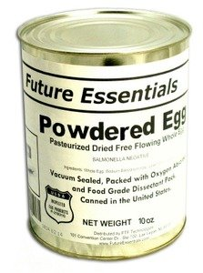 1 Can of Future Essentials Canned Powdered Eggs #2.5 Can (10 oz)
