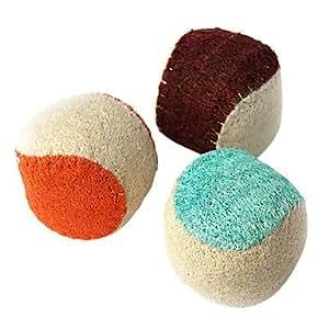 haustiere ball saubere z hne luffaschwamm spielzeug sortiert versand haustier. Black Bedroom Furniture Sets. Home Design Ideas