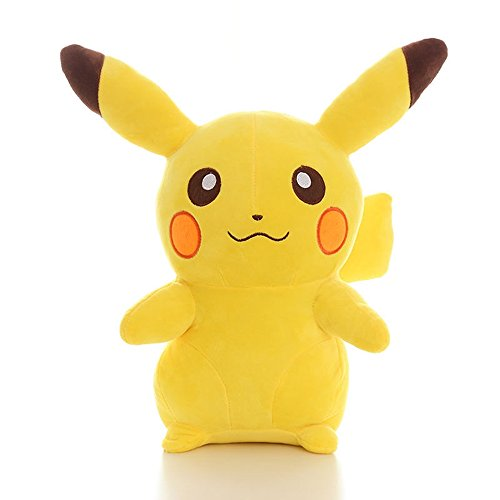 "2016 New Pokemon Anime POKEMON Pikachu Soft Plush Toy Gift 13.8"" (35cm.)"