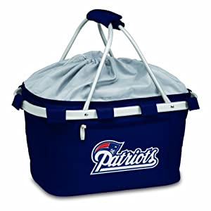 NFL New England Patriots Metro Insulated Basket, Navy by Picnic Time