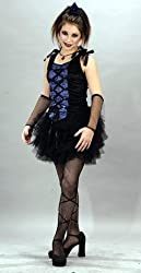 Girls Goth Ballerina Costume