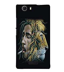 printtech Bob Marley Back Case Cover for Micromax Canvas Nitro 2 E311::Micromax Canvas Nitro 2 (2nd Gen)