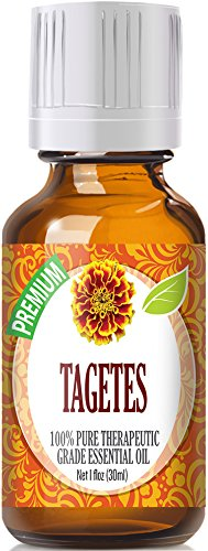 Tagetes (30ml) 100% Pure, Best Therapeutic Grade Essential Oil - 30ml / 1 (oz) Ounces