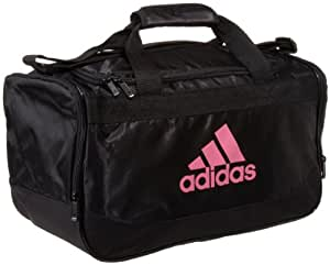 Adidas Defender Extra Small Duffel Bag (Black/Pink)