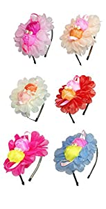 iOna Beauty Essentials Hair Alice Bandeaux Hairband Headbend Hairpins Band ABSET4G3 for Girls 2