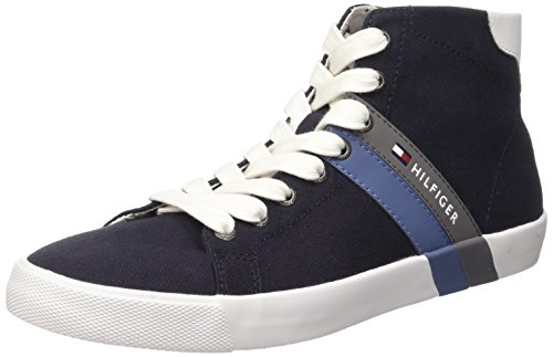Tommy Hilfiger SM V2285OLLEY 6C2 Scarpe a Collo Alto, Uomo, Blu (Midnight 403), 41