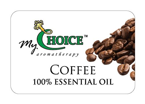 Coffee 100% Essential Oil - 5 Scented Refills Pads - Car & Home Natural Air Freshener