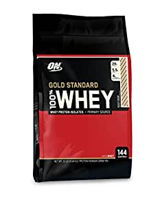 Optimum Nutrition 100% Whey Gold Standard, Rocky Road, 10 Pound