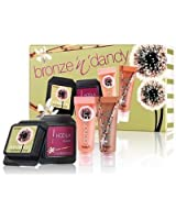 BENEFIT COSMETICS bronze n dandy - coordinating hoola n dandelion gloss & cheek DELUXE MINIs BOXED LIMITED EDITION