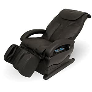 Pure Therapy PT500 Remote Control Operated Reclining Shiatsu Massage Chair with Elite Shoulder, Back and Calf Therapy