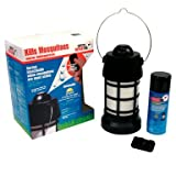 Skeeter Defeater Starter Kit Dispenser/Refill/Remote Kills Mosquitoes