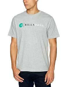 Billabong Herren T-shirt Strike Short-sleeve, grey heather, S, L1SS09BIW2