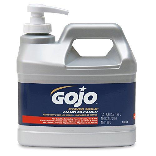 gojo-0988-04-power-gold-hand-cleaner-1-2-gallon-pump-bottle-pack-of-4