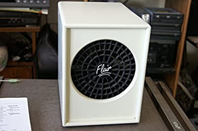 ECOQUEST FLAIR AIR FRESH LIVING AIR OZONE CLEANER AIR PURIFIER w/ 2 PLATES