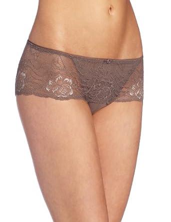 Wacoal Women's So Seductive Hipster Panty, Cappuccino, Large at Amazon