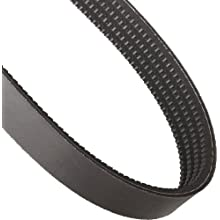 "Goodyear Engineered Products HY-T Wedge Torque Team V-Belt, 3VX Profile, Banded & Cogged, 4 Rib, 1.5"" Width"