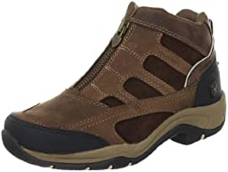 Ariat Women\'s Terrain Zip H2O Hiking Boot, Distressed Brown,9.5 B US