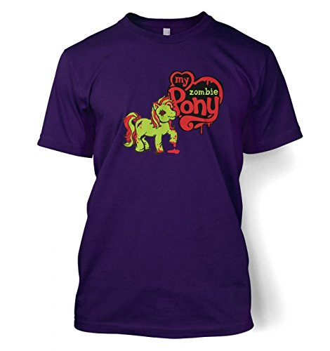 My Zombie Pony T-shirt - Purple XX-Large (50/52