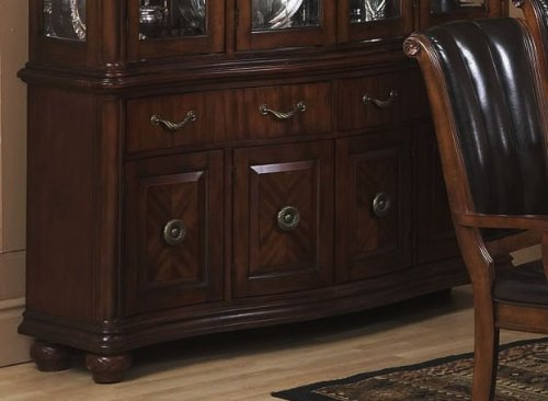 Cheap Buffet with Traditional Style Design in Dark Walnut Finish (VF_AP-351-4)