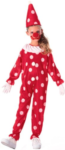 Dotted Child Clown Costume