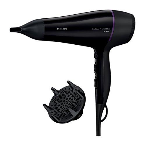 Philips BHD176/10 - Secador de pelo, 2200 W, color negro