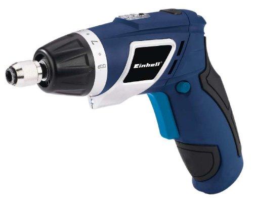 Einhell-BT-SD-361-Li-Akkuschrauber-Li-Ion-36-V-13-Ah-1-Gang-3-Nm-LED-Licht-und-Batterieanzeige-4-Schrauber-Bits-Grtel-Holstertasche