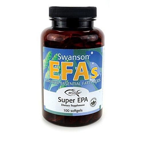 Swanson EFAs Super EPA Fish Oil - 100 Softgels - Superior Essential Fatty Acids by Swanson EFA (Swanson Super Epa compare prices)