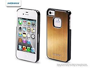 Momax Feel N Touch Case For Iphone 4S/4 (Gold + Black)