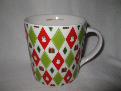 Starbucks Barista 2003 Snowman Presents Holiday Mug