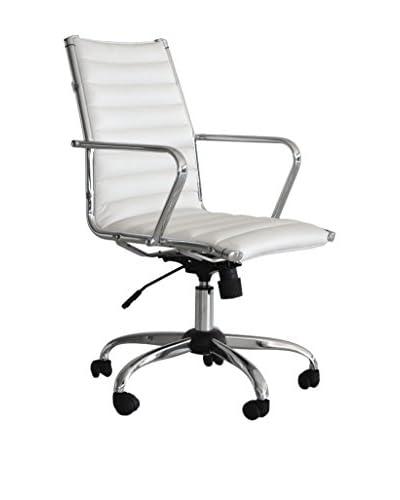 Sedie Dirigenziali Per Ufficio.Tuoni Sedia Ufficio Pandora Dirigenziale Bianco Vivo A