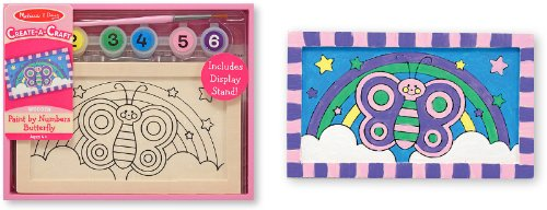 Paint By Numbers - Butterfly - Case Pack 3 SKU-PAS538981